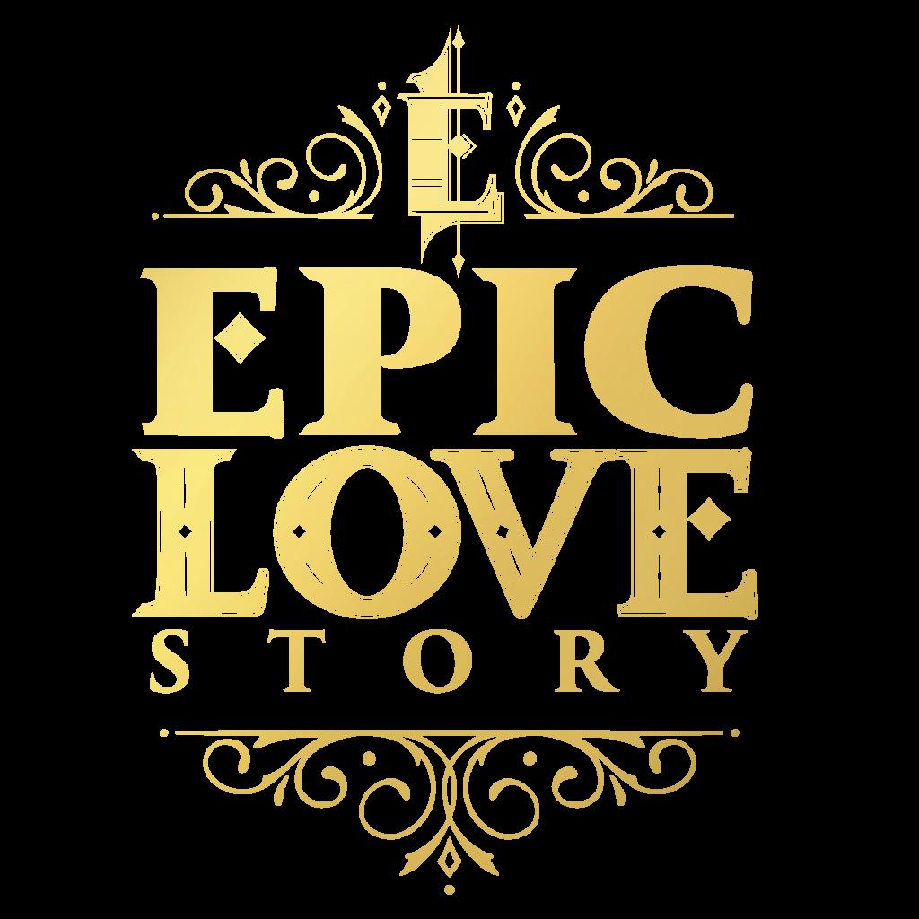 Epic love story logo